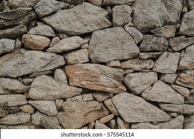 Old stone wall texture, Greece