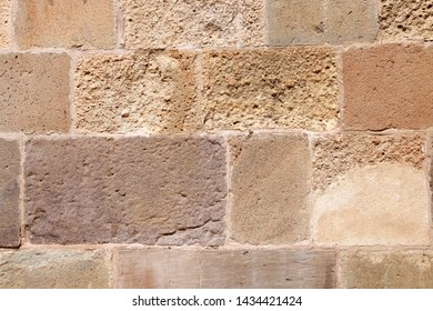 Old Stone Wall Textured Background