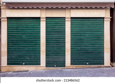 old store front - nice facade