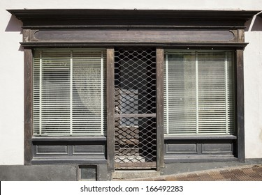 old store front - space for text
