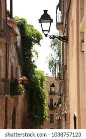old street city spain