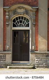 Old street door