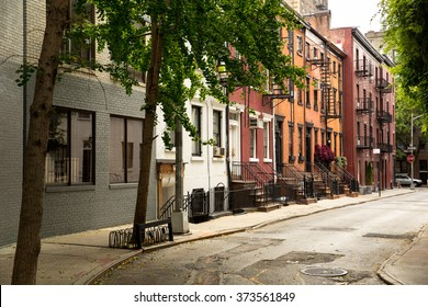 Old Street in Greenwitch Village New York