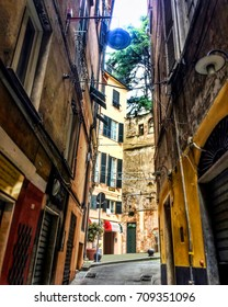 Old street in Italy