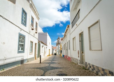 Old street in Lagos (Algarve, Portugal)