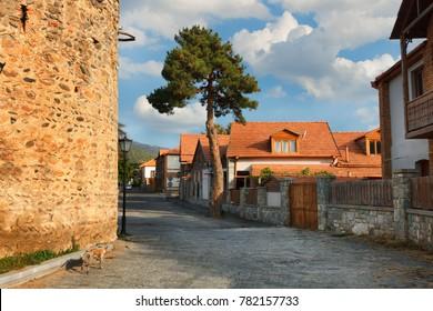 Old street in Mtskheta. Georgia