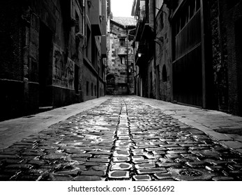 Old streets of the Basque country