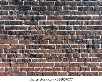 Old style brick wall