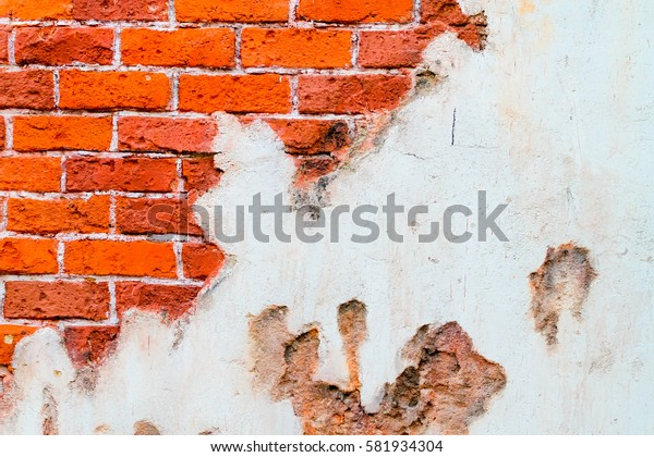 Old style brick wall background