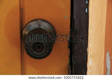 Old Style Door Knob Stock Photo Edit Now 1005715822 Shutterstock
