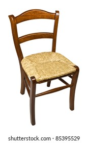 old style of wood chair