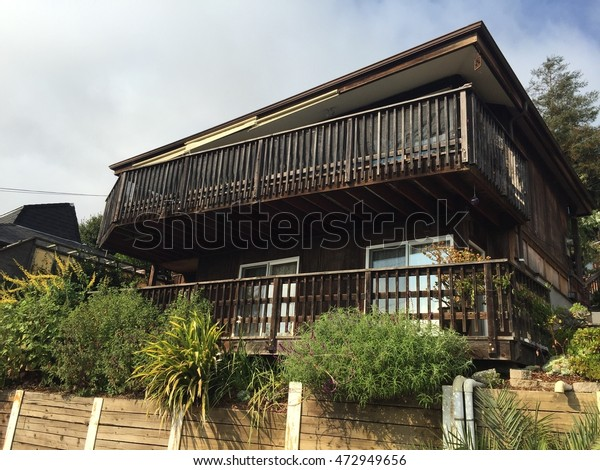 Old Style Wooden House Berkeley Stock Photo Edit Now 472949656