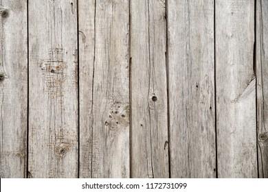 old sunburned wooden boards of a similar gray color background