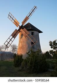 Old swedish windmill