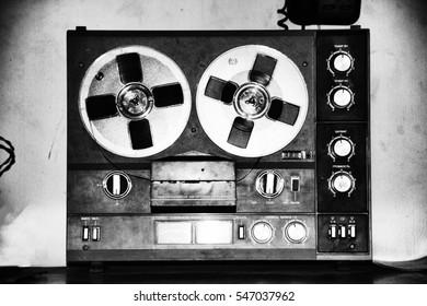 Old tape. Reels