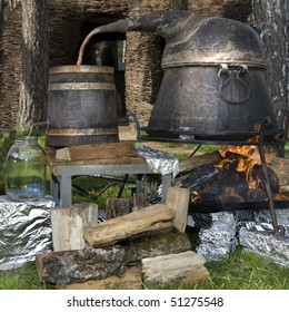 old technology of making alcohol
