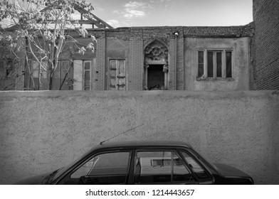 Old Tehran buildings