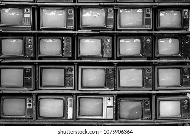 Old Television Stack
