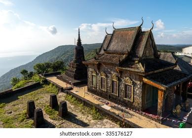 Old Temple Phnom BokorKampot Province Oct 2015.