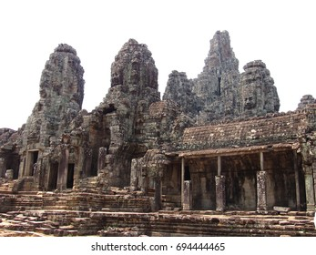 Old temples ruins in Cambodia (Siem Reap)