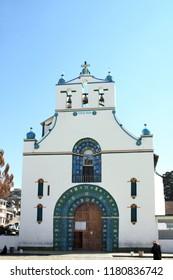 Old Templo de San Juan Bautista, Chamula, near San Cristobal de las Casas, Chiapas, Mexico