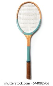 Old tennis racket