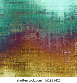 Old texture as abstract grunge background. With different color patterns: yellow (beige); brown; purple (violet); blue; cyan