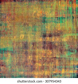 Old texture or antique background. With different color patterns: yellow (beige); brown; purple (violet); green