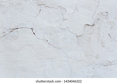 Old textured concrete wall with natural defects. Scratches, cracks, crevices. Can be used as background for design or poster.