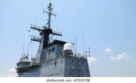 old thai battle ship