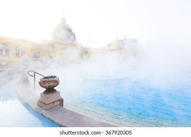 an old thermal baths in Europe