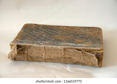Old thick shabby book
