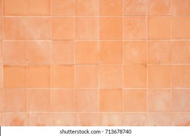 Old Tile Floor for Background