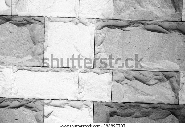 Old tiled concrete block pavement background