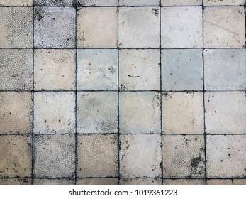 Old tiles vector texture.