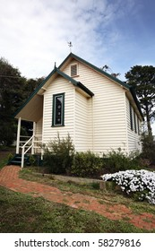Old Timber Church with lovely garden, Yarra Valley, Australia