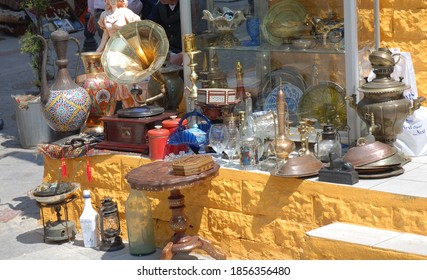 Old time goods street sale