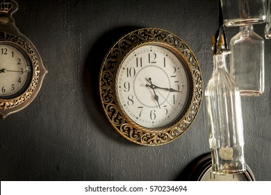 Old timepieces in old house