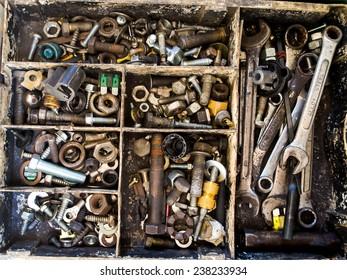old tools box