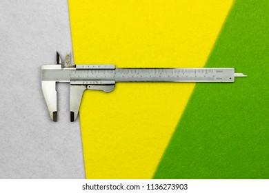 Old tools pachymeter vernier caliper