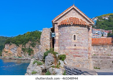 Old Tower in Stari Grad Budva, Montenegro