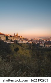 Old towm city Prague in sunset time - Shutterstock ID 1621192903