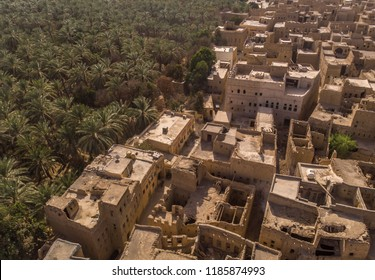 Old town Al Hamra and it's date plantation in Oman