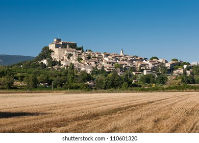 Old town of Ansouis in Provence in the South of France