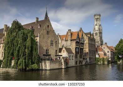 Old town in Antwerp - Belgium
