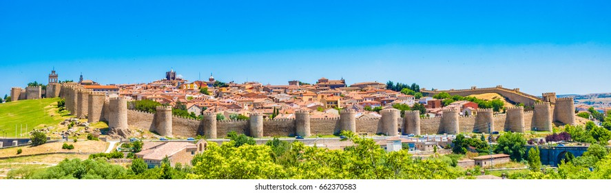 Old Town of Avila with its Extra-Muros Churches, Spain - A UNESCO World Heritage Site