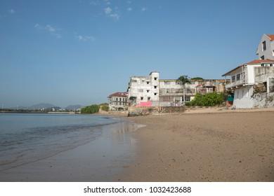 Old town beach Panama