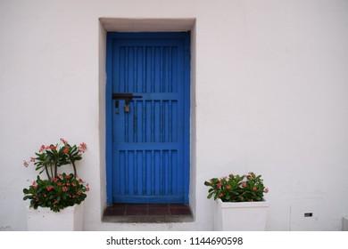 Old Town Blue Door