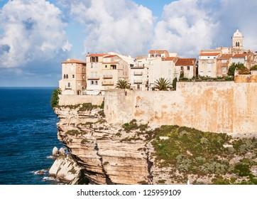 old town of bonifacio - sicily