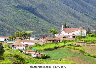 Old town in boyaca (Colombia).